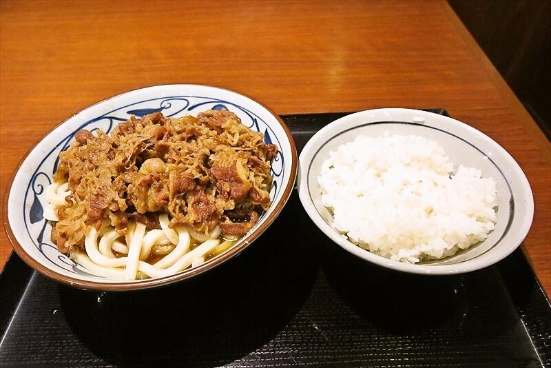 肉祭り!『丸亀製麺』肉4倍かけうどん(大)って丸亀ガチャじゃね?