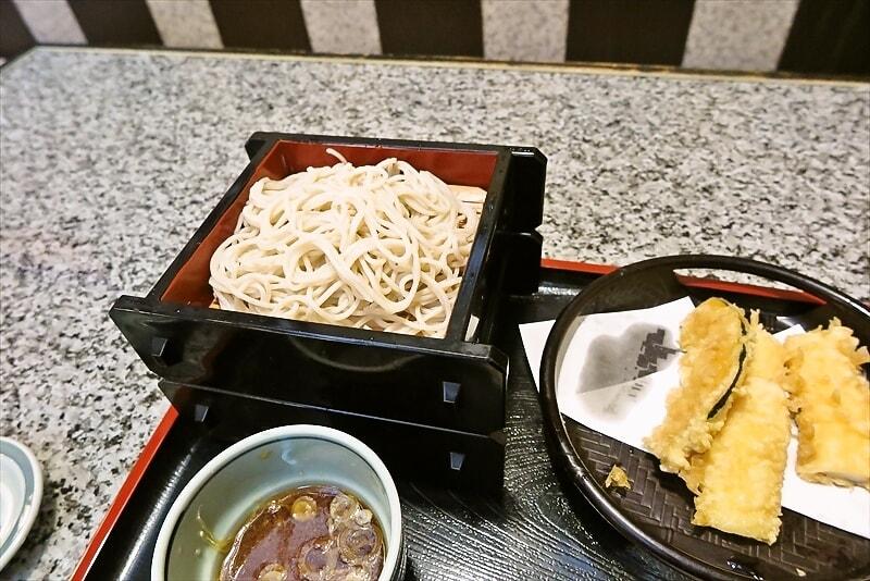 相模原『名古屋』イカと野菜の天せいろ的な新蕎麦を食べてみた