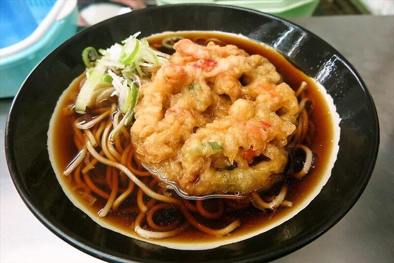 【東神奈川】『日栄軒』創業大正7年のレジェンドで天ぷら蕎麦とか【横浜】