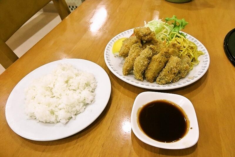 【牡蠣フライ】八王子『洋食おがわ』かきフライ定食を食す!【カキフライ】