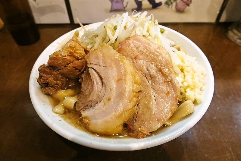 """相模原『麺屋 歩夢』1月3日限定""""超極太麺""""的な小ラーメンを食す!"""