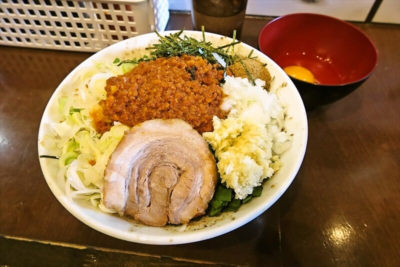 """相模原『麺屋 歩夢』1月1日限定の""""台湾まぜそば""""が美味しかった件"""