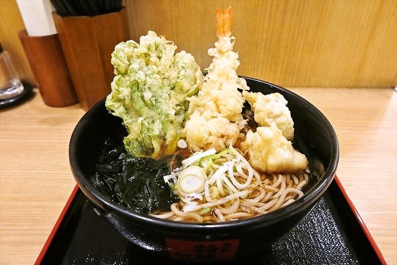 『箱根そば』新春開運そばのホタテ天が美味しかったので御報告