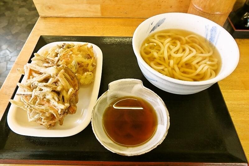 愛川町『まる家』関西風だしうどんを欲した時~ with ごぼう天