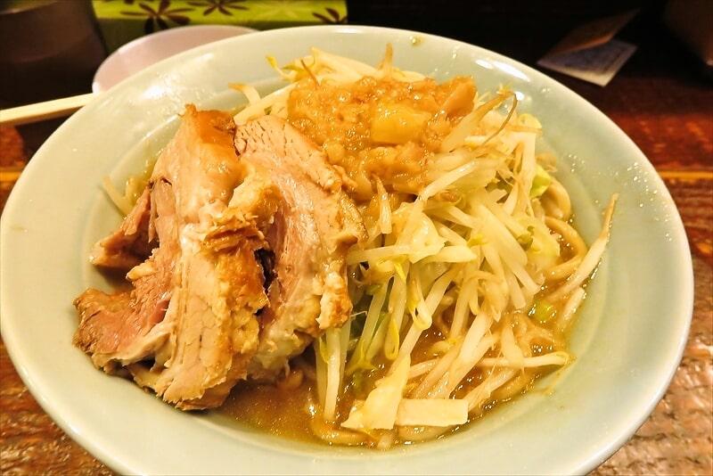 『立川マシマシ』ミニラーメン(麺150g)が丁度良い女子大生