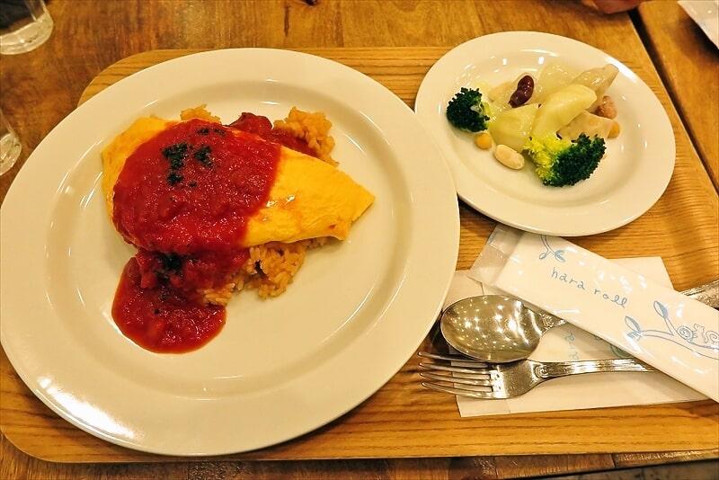 『はらロール +cafe』トマトソースオムライスの美味しさよ@国分寺