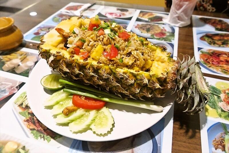 『Kinnaree』パイナップルチャーハンって美味しいよね?