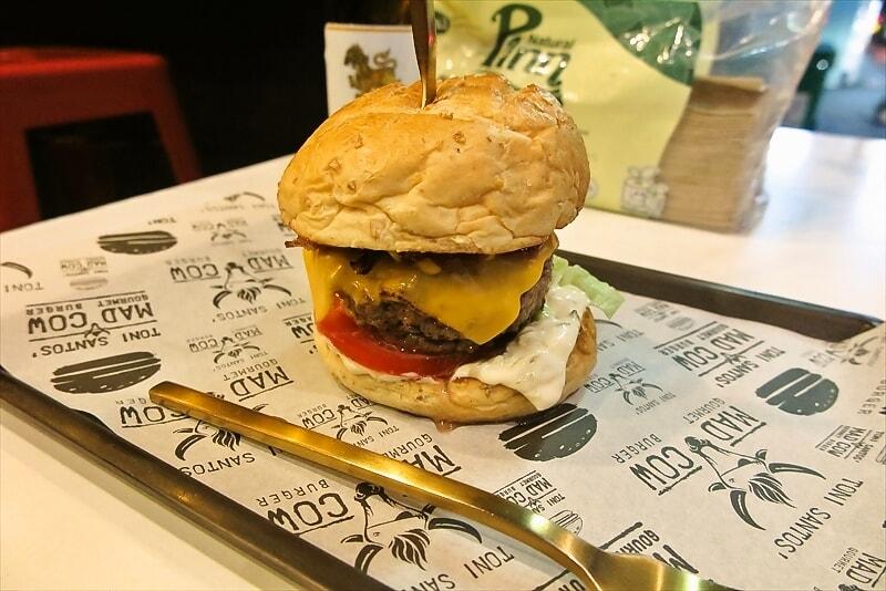 バンコク『MAD COW』でマッドカウ的なハンバーガーを食す!