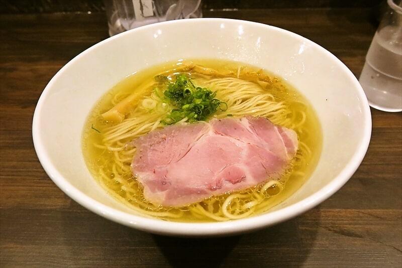 『しおらーめん進化』町田駅前店が移転したので塩ラーメン食べつつ御報告