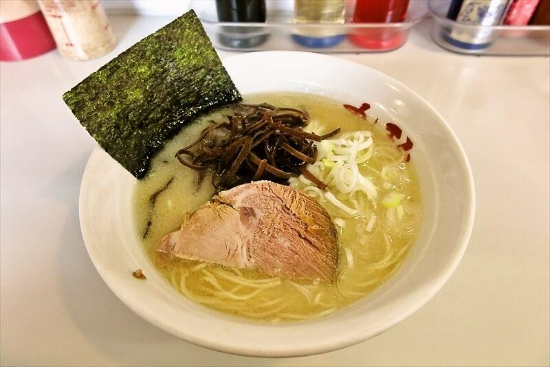 【博多】町田『九一麺』とんこつ塩ラーメンが美味しいので御報告【豚骨】