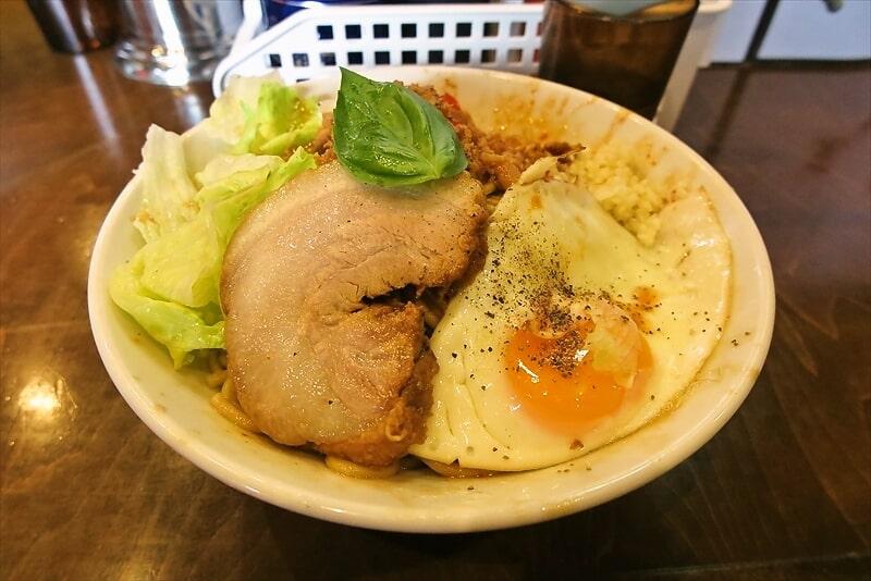 祝!『麺屋 歩夢』2周年!ガパオ混ぜそば細麺バージョンを食す!