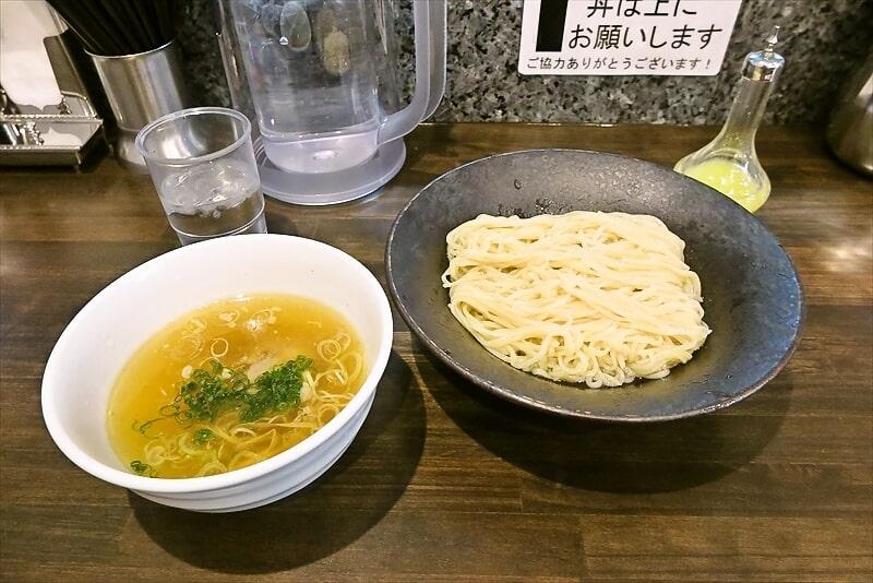 『町田汁場 しおらーめん進化』しおつけ麺って美味しいよね?