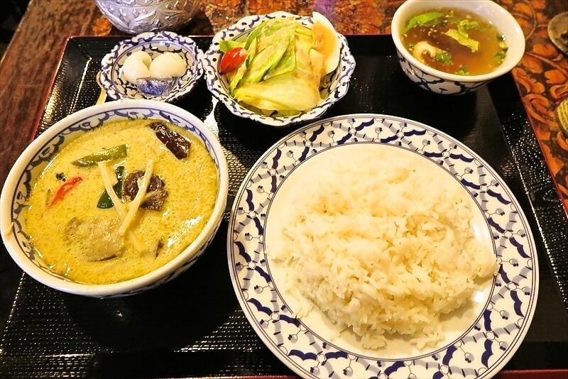 町田『マイペンライ』グリーンカレー的なランチを食す!