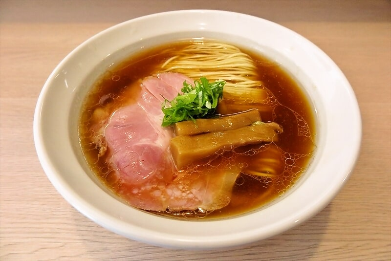 『麺笑 巧真』醤油らーめん1