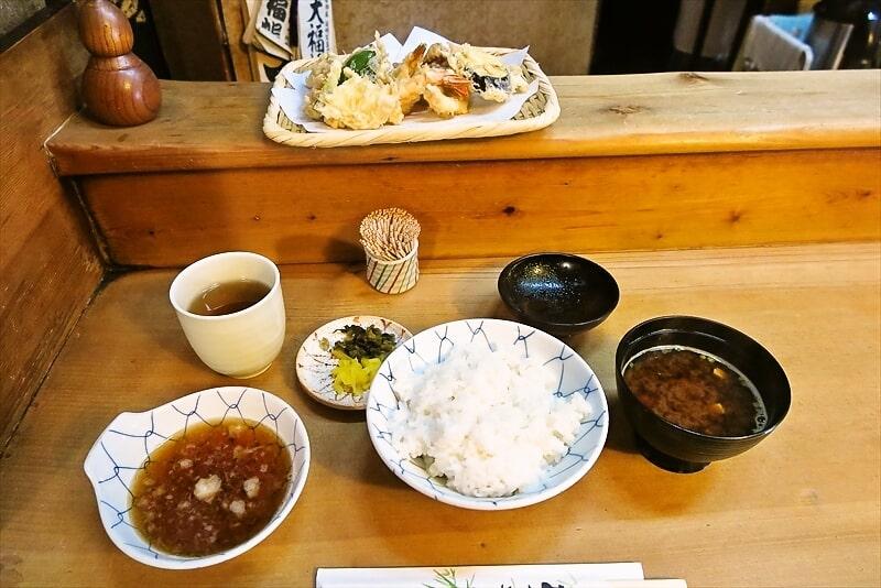 天ぷら『天安』創業1957年!ランチの天麩羅定食1300円ワンチャン!@福岡