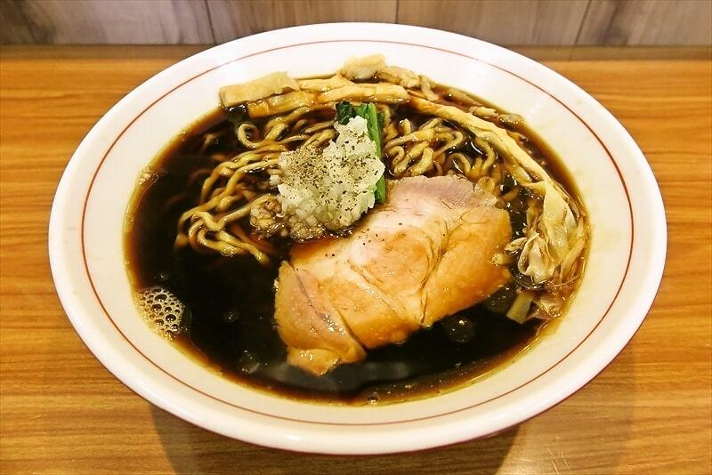 相模原『ら~麺 安至』(やすし)生姜香る漆黒醤油ラーメンを食す!