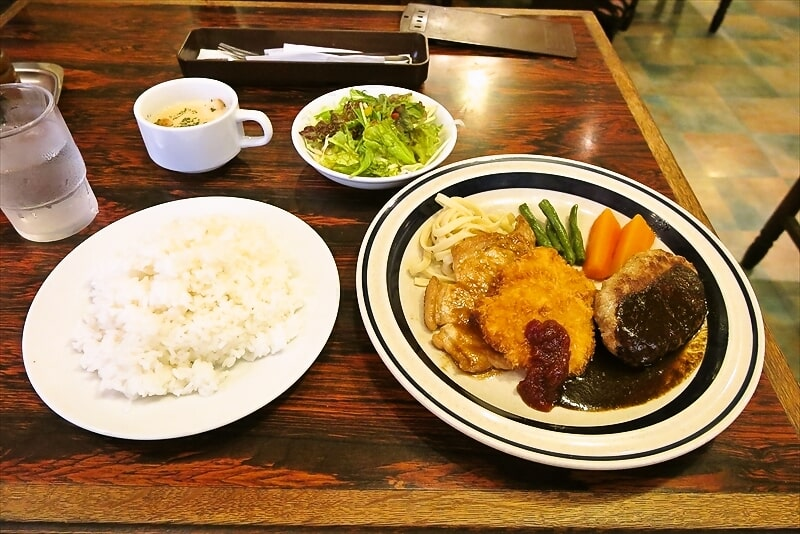 町田の洋食屋さん『グリルママ』のスペシャルランチが美味しい件