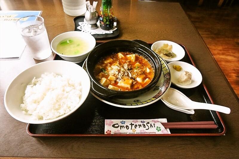 【中華】相模原『お食事処 道』8の付く日は麻婆豆腐な定食888円【とんかつ】
