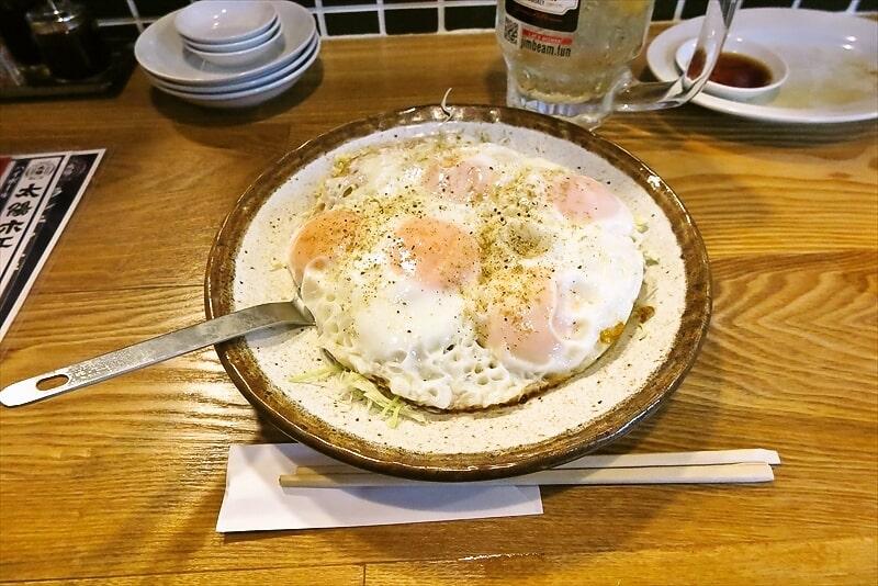 横浜桜木町『太陽ホエール』野毛本店でホエールの大目玉焼き&ハイボール