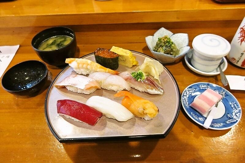 相模原『寿司ダイニング 旬粋』握り寿司的ランチと300円ハイボール@淵野辺
