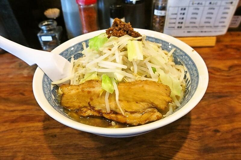 横浜環状2号線『神勝軒』角ふじ麺的なG系ラーメンを食す!@下永谷