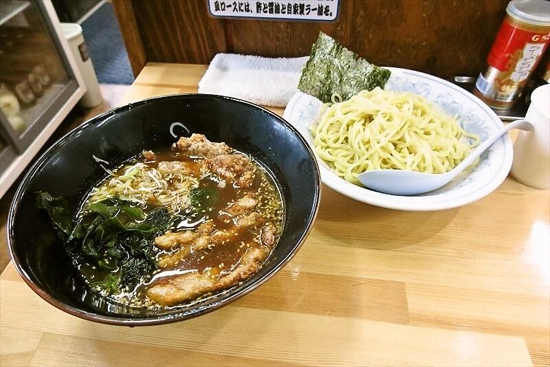 町田『麺工房マルオ』ロース醤油つけ麺でどうでしょう?