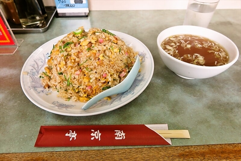 東神奈川駅『南京亭』中華料理の人気店でチャーハン大盛りを食べる@横浜