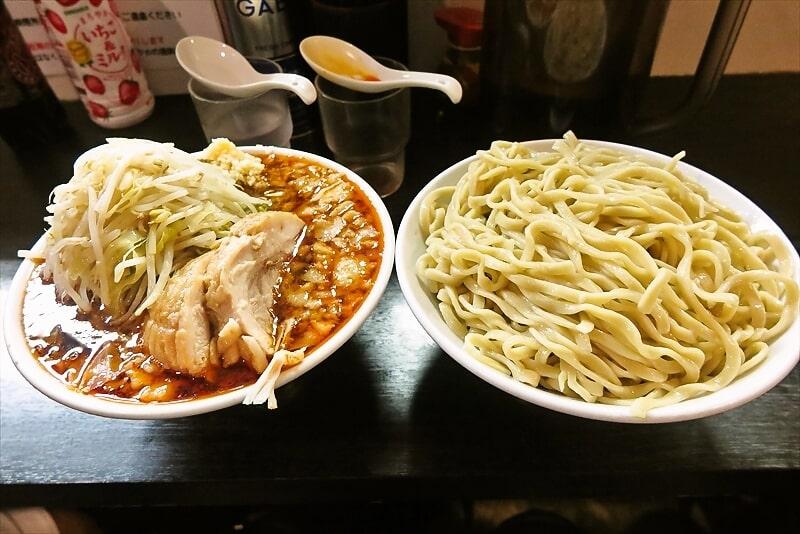 """元住吉『豚星。』G系ラーメンの店で""""つけ麺""""デビューしてみた@川崎"""