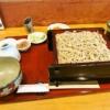 『池乃家』辛味大根せいろ大盛り的な蕎麦を食べる時@相模原