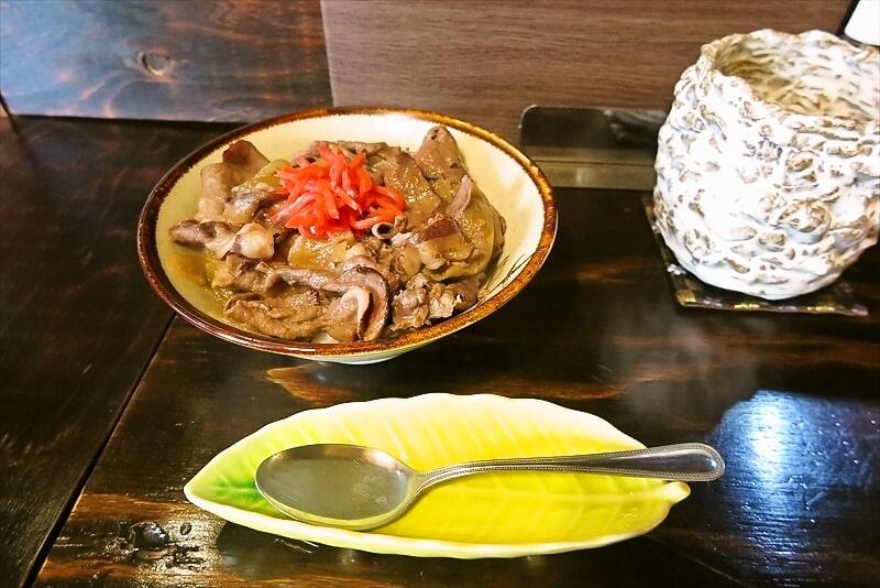 相模大野『実家』猪丼&猪のモツ煮的なジビエを食べてみた@相模原