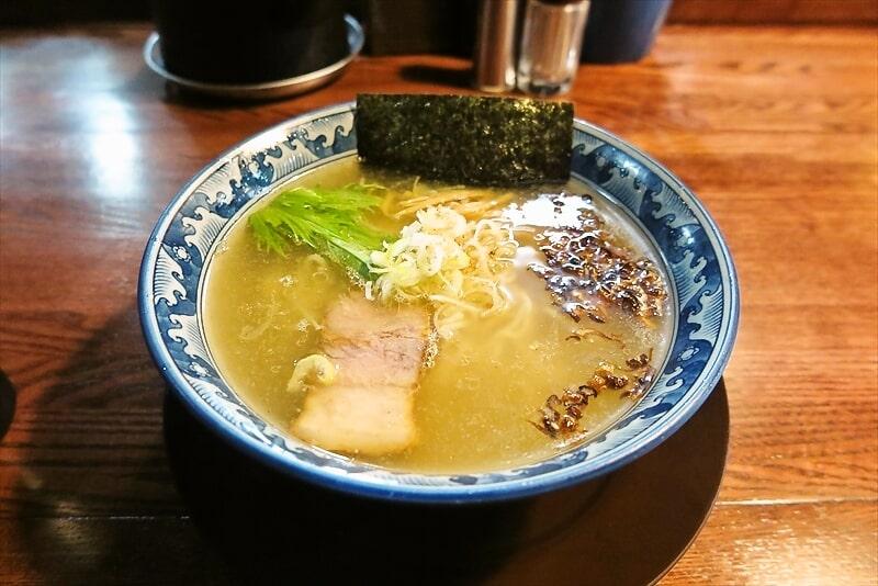 愛川『麺工房 隠國』(こもりく)塩ラーメン的な何かが美味しい件