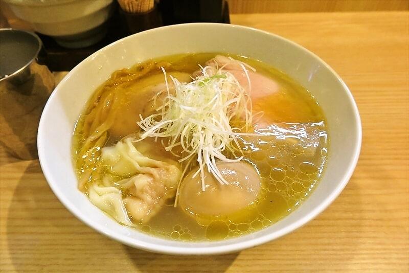 相模原『中村麺三郎商店』スープが変わったので特製塩ラーメンを食べてみた