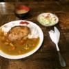 横浜『レストラン喫茶ぷらむ』(PLUM)ハンバーグカレー的ランチ