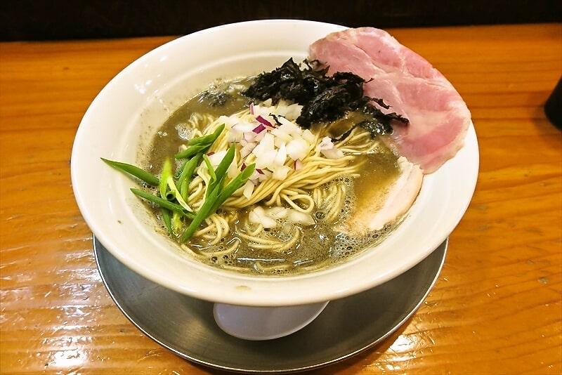 『六郷』二段仕込みのセメント煮干し麺的限定ラーメンなど@相模原