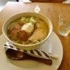 『カフェ トガシ』クロワッサンもパフェもスルーしてラーメン食べる時@相模原