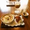 オダサガ『アデリータ』ポテトとハムのココット的モーニング