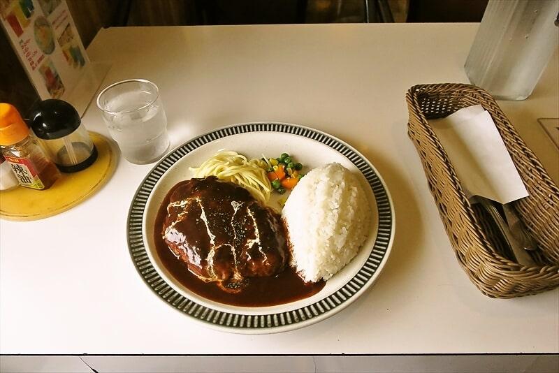 【コスモス】玉川学園前ら辺でハンバーグ的ランチを食す@町田【COSMOS】