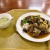 『王家餃子』日替わりランチの牛肉あんかけご飯600円を食す@淵野辺