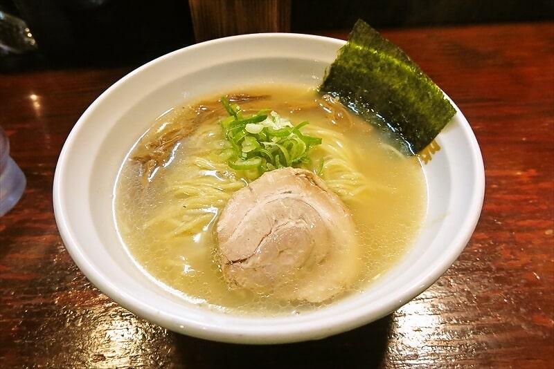 『らーめん信楽茶屋』(しがらきぢゃや)塩ラーメンを食す@鶴見