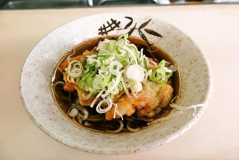 【鶴見】『立喰そば ういーん』天ぷらそばを食べる時@横浜【立ち食いそば】