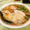『よしの食堂』でワンタンメン的なラーメンを食べてみた@相模原