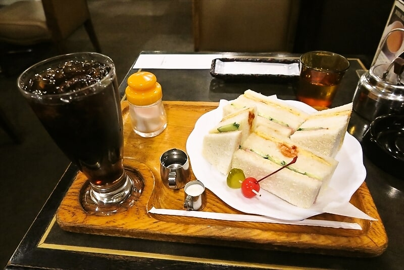 熊本『純喫茶 ビギン』エッグサンド(焼いたエッグ)が美味しい件