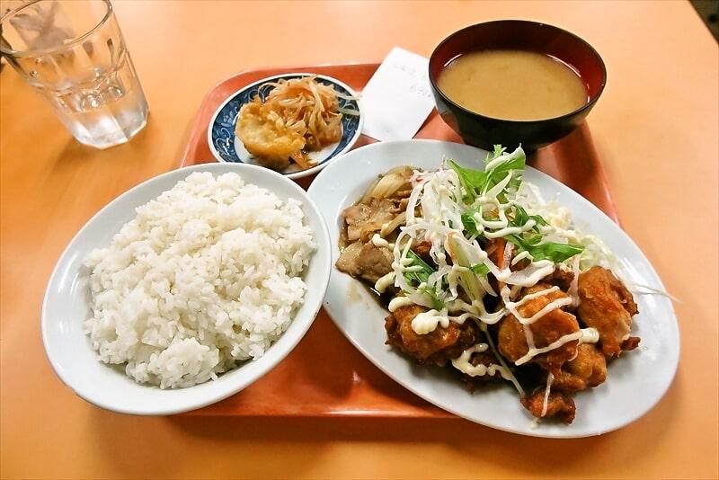 六角橋『大学食堂』で大学定食的なランチはどうでしょう?