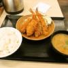 『とんかつ かつや』期間限定!秋の海鮮フライ定食でカキフライ!