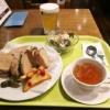 熊本『ビアレストラン オーデン』ローストポークのサンドですよ!