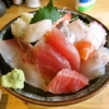 町田『昭和食道 上宿一丁目』おまかせ海鮮丼の刺身ヂカラよ……