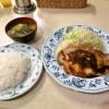 銀座『れすとらん はと屋』豚ロース生姜焼き定食の愛しさよ……