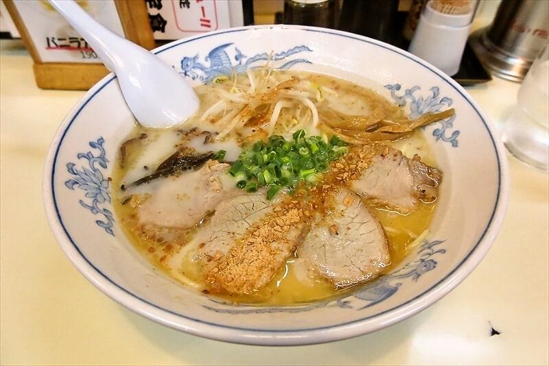 『元祖 熊本ラーメン こむらさき』王様ラーメンを食す!