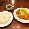 町田洋食『グリルママ』若鶏生姜焼ランチ(牡蛎フライ付き)を食す!