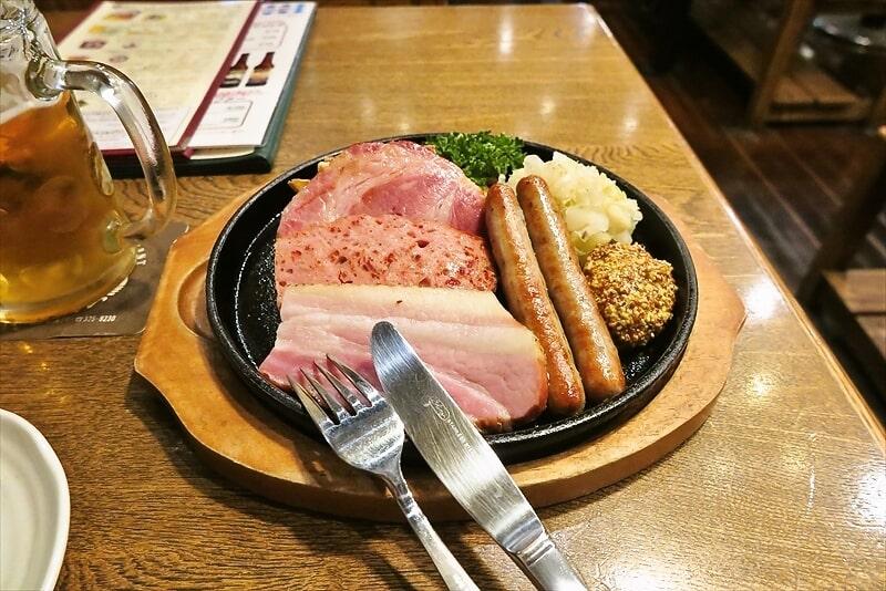 熊本旅行グルメ『ビアレストラン ODEN』オーデンでビールとハムとソーセージ的な!